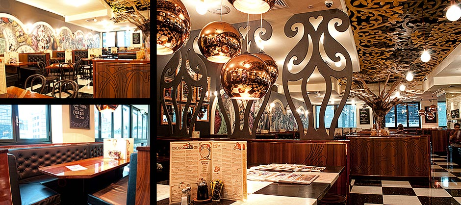 Commercial / Restaurant Interior by Phelan Interiors